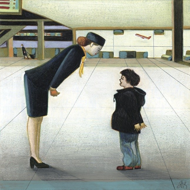 Salvatore Scibona - The kid (Lorenzo Mattotti - newyorker.com)