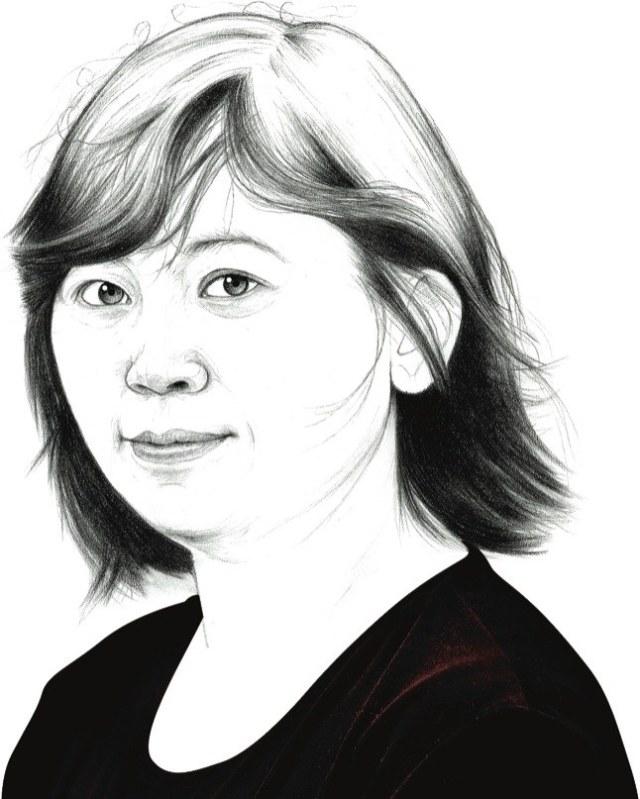 Yiyun Li (Grafilu - newyorker.com)