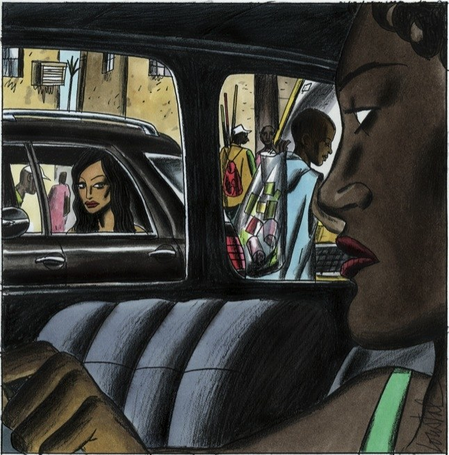 Chimamanda Ngozi Adichie - Birdsong (minh hoạ - Jacques De Loustal - newyork.com).jpg