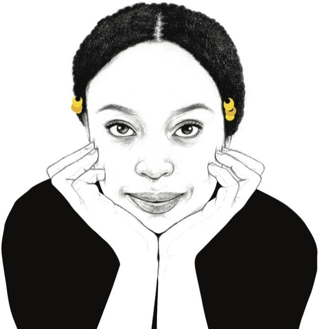 Chimamanda Ngozi Adichie (Grafily - newyorker.com)